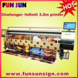 los 3.2m Flex Banner Printer/Vinyl Printer con Seiko Head (FY3208R)