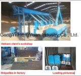 Hohe Leistungsfähigkeits-Brennholz-Sägemehl-Brikett, das Maschine herstellt
