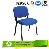 Silla azul de la oficina del marco del metal, silla del hospital (CE/FDA/ISO)