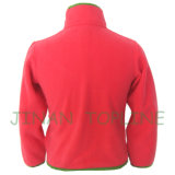 Junior Style Microfleece Long Zipper Softshell Jacket