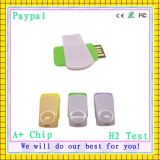 USB Flash Drivve USB Drive 256MB OEM Swivel Metal Gift Items (gc-663)