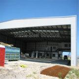 Forte magazzino chiaro della costruzione prefabbricata della struttura d'acciaio