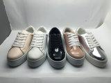 Chaussures de toile plates de loisirs neufs d'arrivée pour les femmes et les hommes (6099)