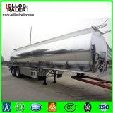 中国5083の鋼鉄トレーラー52000リットルの半三車軸アルミ合金の燃料タンクの