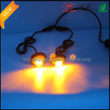 2X6 Amber DEL Hide un Way Strobe Lights