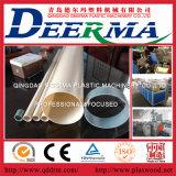 Pipa plástica del abastecimiento de agua del PVC que hace la máquina/la cadena de producción
