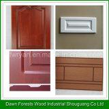 El grano de madera colorea la cabina de cocina de la película del PVC y la puerta del guardarropa