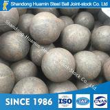 Bola de acero forjada Wear-Resistant para la mina de cobre 60m m