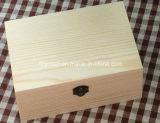 Eco-Friendly напечатанный незаконченный деревянный упаковывать вина