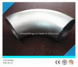ASTM 이음새가 없는 A403 Wp304 스테인리스 개머리판쇠 용접 팔꿈치