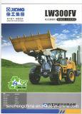Maquinaria de construção de China carregador Lw300fv da roda de 3 toneladas