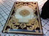 Goldene keramische Teppich-Kristallfliese mit moslemischer Art