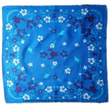OEM Produce Customized Design Imprimé Promotionnel Coton Bandana Head Wrap