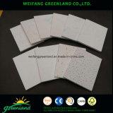Paneles de yeso laminado de vinilo laminado / Paneles de yeso laminado de PVC / Paneles laminados de techo de yeso laminado vinilo, 595X595mm