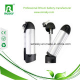 24V 8ah Water Bottle Linicomno2 Lithium Battery Pack für Electric Bicycle