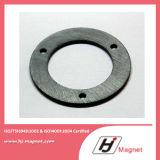 Custmerized heißer Ferrit-Ring-Magnet des Verkaufs-Y30 hergestellt durch China-Fabrik