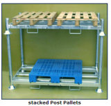 Racking pesado de aço galvanizado armazém