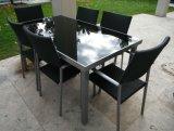 10mm Mesa de café preto Vidro temperado Vidro temperado