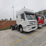 HOWO 4X2 371HP 구동 장치형 트랙터 헤드 트럭