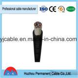XLPE/PVC aisló los cables de transmisión forrados PVC