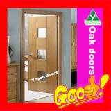 Верхняя дверь Китая твердая деревянная