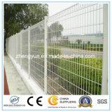 Le PVC galvanisé a enduit la frontière de sécurité soudée par grand dos de treillis métallique