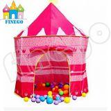 De zachte Tent van het Tipi van de Jonge geitjes van het Huis van het Spel van de Tent van het Katoenen Spel van het Canvas Openlucht Binnen