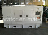 Gerador de diesel silencioso Powered by Perkins Engine 125kVA (YMP-100)