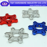 Precio competitivo Color Fasteners Aluminio CNC Parte