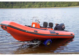 Aqualand 19feet 5.7m Rib Patrol BoatかRigid Inflatable Rescue Boat (RIB570B)
