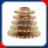 Fileiras múltiplas das rodas dentadas que soldam a roda dentada da ceifeira das rodas dentadas