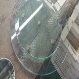 vidro Tempered do espaço livre da tabela da mobília de 6mm com borda e canto Polished