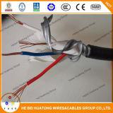 2 la base de Thhn de la base de la base 3 galvanizó el cable de transmisión acorazado de la cinta de la aleación de aluminio