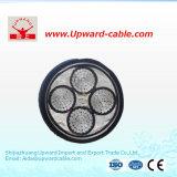 câble électrique blindé d'en cuivre multi souterrain du faisceau 600V