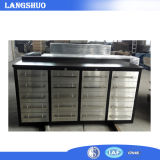 Alta qualidade Stainless Steel Toolbox Roller Cabinet/20 Drawers Toolbox Made em China