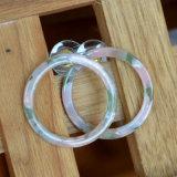 女性の多彩な樹脂文のイヤリングのための空の円形のスタッドのイヤリング