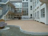 装飾的なプラスチック木製の床はDeckingを挿入する