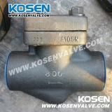 Тип задерживающий клапан кованой стали y (YH11)