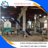 linha de produção de madeira manufatura da pelota 2t/H