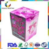 Os cosméticos colorem a caixa de empacotamento para o perfume, máscara, jogo do cuidado de pele