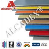 CE / Voc / Exova fibrocemento EPS aluminio panel de pared