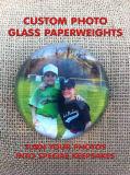 Cristal de cristal personalizado Recuerdos turísticos de pisapapeles