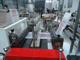 Bolso plano rodante que hace la máquina