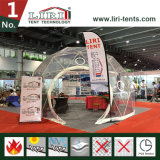 販売の屋外のイベントのための明確な上の木の測地線ドームのテント