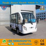 8つのシートの閉じる工場直接白い電気観光車
