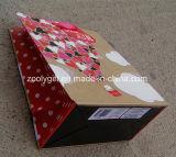 Мешки изготовленный на заказ счастливого праздника влюбленности яркия блеска мешка подарка бумаги печатание дня Valentine бумажные