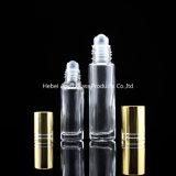 5ml 10ml effacent le roulis ambre sur des bouteilles avec le rouleau pour l'usage de parfum