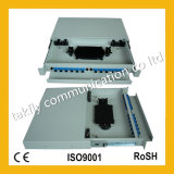 Slidable 랙마운트 1u 19 인치 광섬유 패치 Panel/ODF