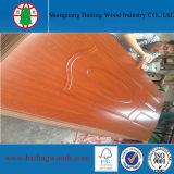 Pele moldada melamina da porta da boa qualidade HDF