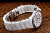 Relógio cerâmico digital de precisão diamante